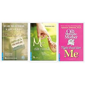 COMBO Sách dành cho mẹ (Nghệ thuật làm mẹ + Mẹ dắt con đi + Dành cho mẹ món quà của tình yêu)