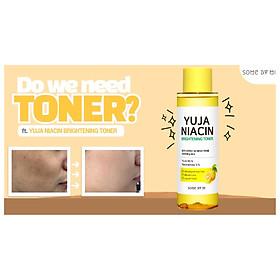 Combo dưỡng trắng da, mờ thâm Some By Mi Yuja Niacin (Toner, serum)-1