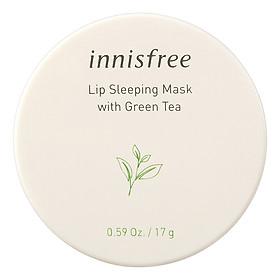 Mặt Nạ Ngủ Dưỡng Ẩm Trà Xanh Cho Môi Innisfree Lip Sleeping Mask With Green Tea 17G-131171856