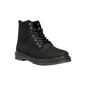 Giày Da Nam MENUP Mã Men - 896 Màu Đen Búc