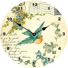 Đồng hồ treo tường phong cách cổ MS 14