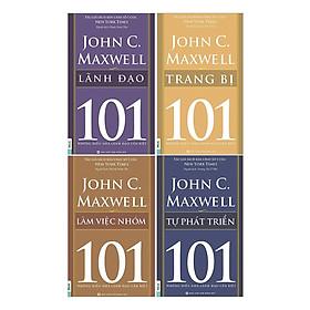 Combo Sách 101 - Những Điều Nhà Lãnh Đạo Cần Biết (4 Cuốn) - Bộ 2 (Tặng kèm iring siêu dễ thương s2)
