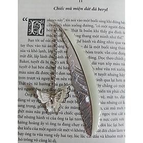 Kẹp sách Bookmark dạ quang Lông vũ