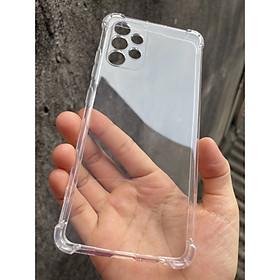 Ốp lưng dẻo cho Samsung Galaxy A32 4G, A32 5G - chống sốc 4 góc trong suốt , bảo vệ Camera