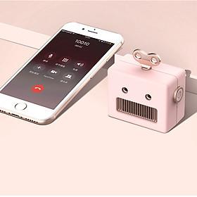 Loa Bluetooth Speaker Robot Mini Di Động Thông Minh