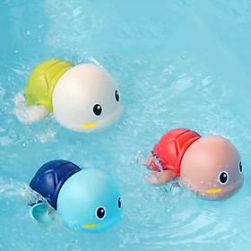 Đồ chơi nhà tắm bé rùa bơi vặn dây cót đáng yêu bằng nhựa nguyên sinh ABS an toàn cho bé đủ màu sắc – DC023