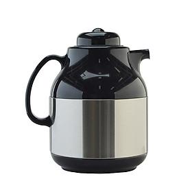 Phích pha trà cao cấp Rạng Đông, 1 lít, giữ nhiệt, thân inox, vai nhựa, Model: RD-1055 ST1.E- Chính hãng