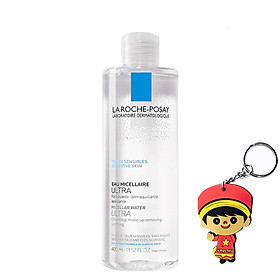 Tẩy trang micellar La Roche Posay Micellar Water Ultra (400mL, tặng móc khoá)