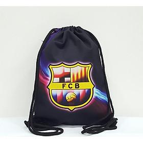 Balo dây rút Football TROY FB in logo câu lạc bộ bóng đá Barcelona