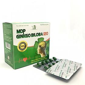 MDP - GINKGO BILOBA 120 Giúp tăng tuần hoàn máu não