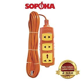 Ổ cắm điện SOPOKA T-3000W công suất lớn siêu chịu tải