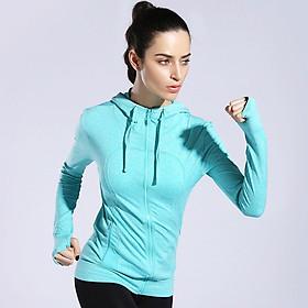 Áo khoác thể thao nữ, chống nắng, tập gym, yoga, fitness
