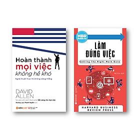 Combo Sách Kỹ Năng Làm Việc: Harvard Business Review Guide - Làm Đúng Việc + Hoàn Thành Mọi Việc Không Hề Khó