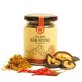Chà bông nấm hương Nấm Tươi Cười (vị cay ngọt) - Phù hợp ăn chay và bổ dưỡng cho sức khoẻ