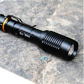 đèn pin bóng Led chống cháy chống nước loại đèn 2 pin siêu sáng
