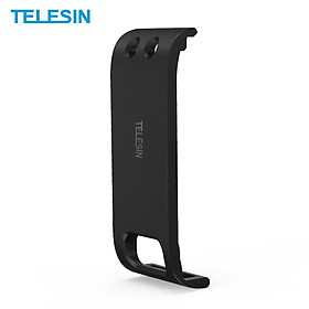TELESIN Protective Battery Door Side Cover with Reserved Type-C Charging Port and Strap Replacement for GoPro Hero 9