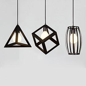 Combo 3 đèn thả khối trang trí đẹp mắt tặng kèm 3 bóng LED chuyên dụng BRITISH LIGHT