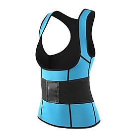 Sweat Vest Waist Trainer  comfortable Adjustable chloroprene rubber waist back brace support Slimming Vest