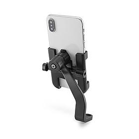 Giá đỡ kẹp điện thoại kim loại gắn gương chiếu hậu xe máy C2