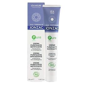 Kem Dưỡng Điều Tiết Và Giảm Dầu Nhờn Eau Thermale Jonzac Pure Purifying Mattifying Cream 50ml