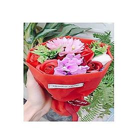 Hình ảnh Bó Hoa Hồng Sáp Thơm Momoyoyoto