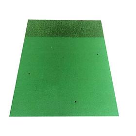 thảm tập golf 2D có cỏ vườn cao