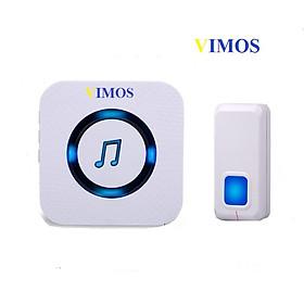 Chuông cửa không dây CAO CẤP , không cần cắm điện như các loại chuông thông thường, chống nước- VIMOS 01