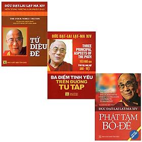 Bộ 3 Cuốn Đức Đạt - Lai Lạc - Ma XIV ( Song Ngữ Anh – Việt ): Tứ Diệu Đế + Phát Tâm Bồ - Đề + Ba Điểm Tinh Yếu Trên Đường Tu Tập ( Tái Bản 2021 )