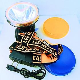 Đèn Pin Đội Đầu Kích Thước To Siêu Sáng X8