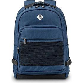 Balo laptop cao cấp 15.6 inch (Macbook 17inch) Mikkor The Eli Backpack chống thấm nước, ngăn đựng rộng rãi, ngăn đựng laptop riêng biệt, chống sốc, quai đeo vai được đệm foam PE dày êm thoải mái