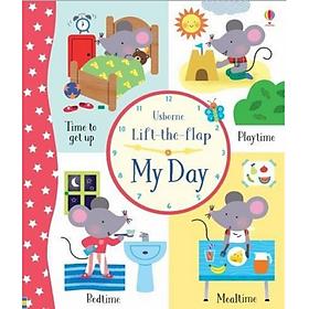 Sách tương tác tiếng Anh - Usborne Lift-the-Flap My Day
