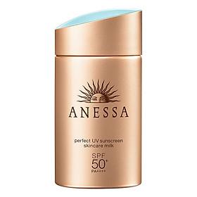 Kem Chống Nắng Dưỡng Da Dạng Sữa Bảo Vệ Hoàn Hảo Anessa Perfect UV Sunscreen Skincare Milk SPF 50+ Pa++++