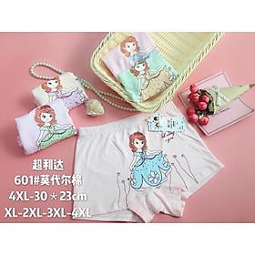 Combo 10 quần đùi bé gái hình công chúa