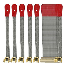 Piano Repair Parts - Bridle Straps, Spring Clip Bridle Straps, Pack of 50