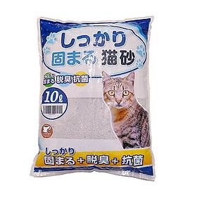 Cát vệ sinh cho mèo Cat Litter 10L hàng xuất Nhật (Được Chọn Mùi)