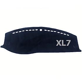 Thảm da Taplo vân Carbon Cao cấp dành cho xe Suzuki XL7 2020 có khắc chữ Suzuki XL7 và cắt bằng máy lazer