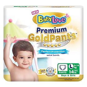 Tã Quần BabyLove GoldPants L14 (Gói 14 Miếng)
