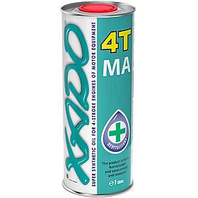Nhớt động cơ xe máy XADO Atomic OIL  SAE 10W-40 4T JASO MA/MA2 API SL 1 Lít