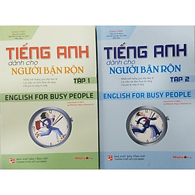 Combo 2 tập Tiếng Anh Dành Cho Người Bận Rộn