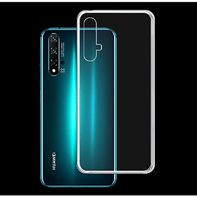 Ốp lưng cho Huawei Nova 5T - 01283 - Ốp dẻo trong - Hàng Chính Hãng