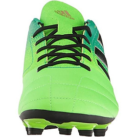 adidas Men's Ace 17.4 FxG Soccer Shoe, Solar Green/Black/Core Green, (12 M US)