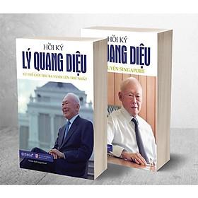 Combo 2 tập Hồi Ký Lý Quang Diệu (Câu Chuyện Singapore + Từ Thế Giới Thứ Ba Vươn Lên Thứ Nhất) Tặng Kèm Bookmark Tuyệt Đẹp