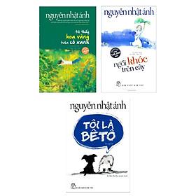 [Download Sách] Combo 3 cuốn sách hay nhất của tác giả Nguyễn Nhật Ánh: Tôi Thấy Hoa Vàng Trên Cỏ Xanh + Ngồi Khóc Trên Cây + Tôi Là Bêtô ( Tặng kèm Postcard Happy Life)