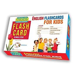 English Flashcard for kids (Hộp Tặng kèm CD)