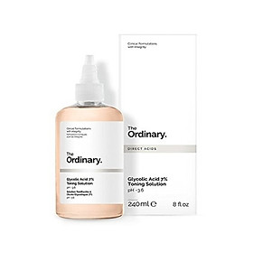 Nước hoa hồng tẩy da chết AHA The Ordinary Glycolic Acid 7% Toning Solution - 240ml