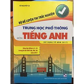 Bộ đề luyện thi trắc nghiệm THPT môn Tiếng Anh
