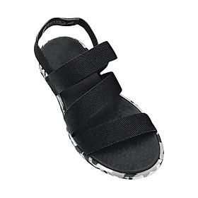 Giày Sandal Nữ SHAT CHM001 - Camo Đen