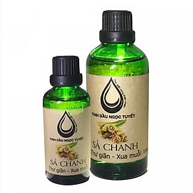 Combo 2 chai tinh dầu sả chanh thư giản và khử mùi Ngọc Tuyết 100mlx50ml