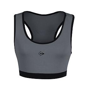 Áo Bra thể thao Nữ Dunlop - DAGYS9125-2B Thoáng khi co giãn thoát mồ hôi tốt phù hợp vận động thể thao tập Gym Yoga