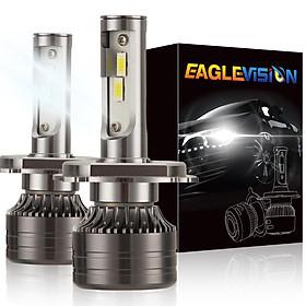 1 pair LED Headlight Bulb 60W 6,000LM ZES-3575 LED chip Automobile LED headlight Car Headlamp